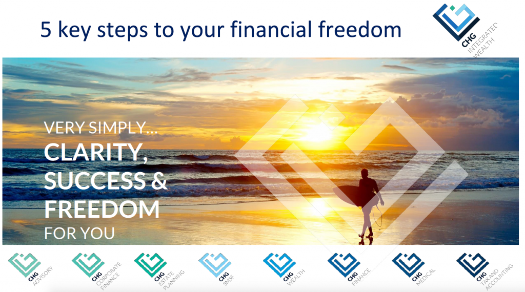 5 Steps to your financial freedom